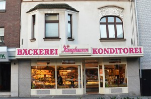Die heutige Bäckerei in der Burgstraße