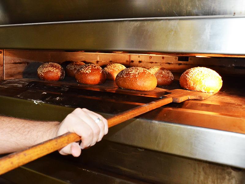 Das Herz der Bäckerei - der Ofen