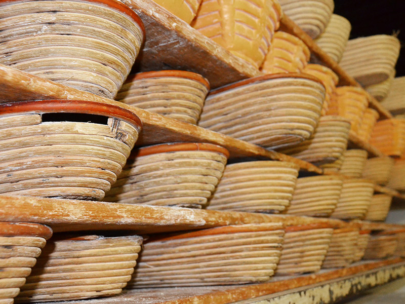 Die alten Brotformen sind immer noch im Einsatz